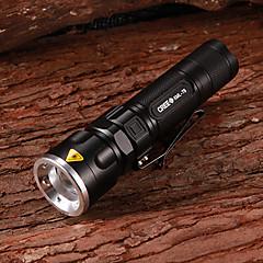 SK96 Cree XM-L T6 800LM 3-el modo de luz blanca de la linterna Zooming (1x18650/3xAAA)
