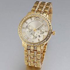 Neutral's Quartz Auto Date Sub-Dial Decoration Steel Band Analog Wrist Watch