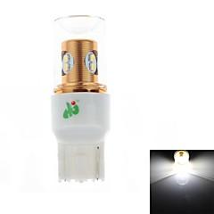 HJ-7440-056   8W 400lm 6000-6500K 8*SMD 2323  LED  Bulb for Car Steering / Reversing Lamp White Light(12-24V)