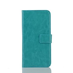 For HTC Case Card Holder / with Stand / Flip Case Full Body Case Solid Color Hard PU Leather HTC