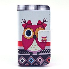 Silly Owls Pattern Full Body Case for iPhone 4/4S
