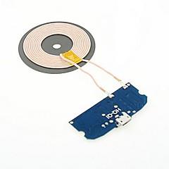 DIY Universal Qi Standard Langaton laturi kierroksen lähetin moduuli N7100 / S3/S4/S5