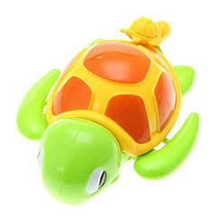 Little Turtle Toy spelade i vattnet