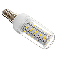 7W E14 LED-maïslampen T 36 SMD 5730 650 lm Warm wit AC 220-240 V