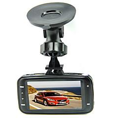 GS8000L lente de cristal original 1080P coche DVR del LCD de 2.7 pulgadas con el G-sensor Novatek