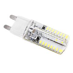 3W G9 أضواء LED ذرة T 64 SMD 3014 384 lm أبيض كول AC 220-240 V