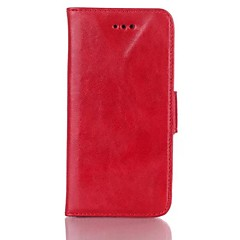 Wax Pattern Luxury Leather Case for iPhone 5/5S  (Assorted Colors)