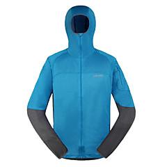 AMADIS Men's Blue+Gray Polyester Long Sleeve Anti-UV Fishing Jacket