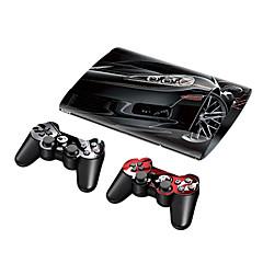 PS3 슬림 4000 보호 스티커 덮개 피부