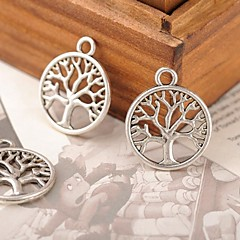 Eruner®38*16MM Alloy Life Tree Charms Pendants Jewelry DIY (10PCS)
