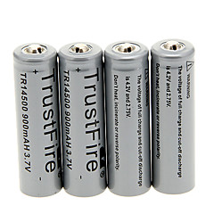 TrustFire 900mAh 14500 Battery (4pcs)