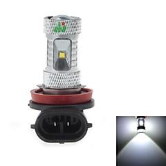 H8 18W 6x3535 SMD 1700LM 6500K White Light LED for Car Foglight(DC 9-24V)