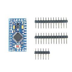ATmega328P-AU Pro Mini Microcontroller Board With Pins for Arduino