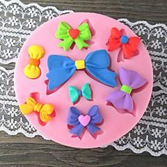 Eight Bowknot Bake Fondant cake mold,L9cm*W9cm*H1cm