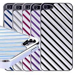 아이폰 5/5S를위한 능 직물 패턴 하드 케이스 (분류 된 색깔)