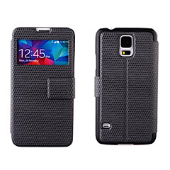 Vidi prozor Flip PU Leather Case za Samsung Galaxy S5