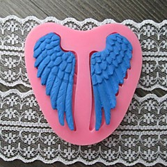 A Pair of Wing Baking Fondant Cake Mold,L7cm*W7.5m*H1cm