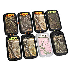 Triple Layer Real Tree Camo Hard Case Cover for Samsung Galaxy S3 i9300