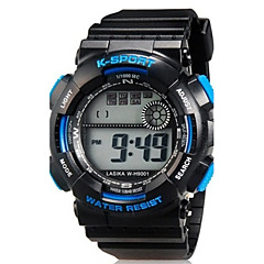 Kids' Sport Watch Wrist watch Casual Watch LED Quartz Silicone Band Casual Black