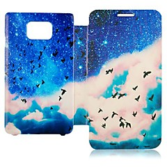 Affaire Full Body Goose Motif sauvage pour Samsung Galaxy S2 I9100