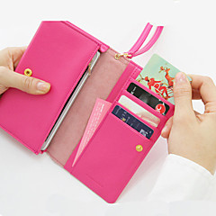 Multifunctionele Zip Wallet (assorti kleur)