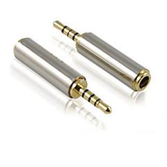Mâle de 2.5mm à 3.5mm femelle téléphone portable / adaptateur écouteurs