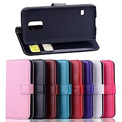 Solid Color PU Leather Case for Samsung Galaxy S5 Mini