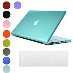 Translucent Design PC Hard Case mit Tastatur Hülle für MacBook Pro (verschiedene Farben)