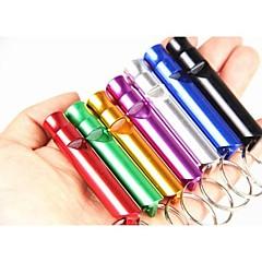 fischietto per cani in lega di alluminio (colore casuale)