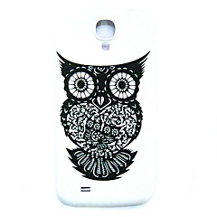 Animal Owl Pattern Thin Hard Case Cover for Samsung Galaxy S4 Mini I9190