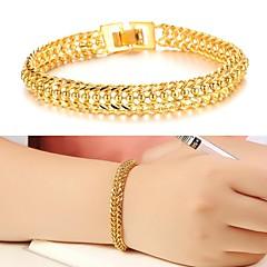 Dames Cuff armbanden Uniek ontwerp Modieus Kostuum juwelen Verguld 18K goud Sieraden Sieraden Voor Bruiloft Feest Dagelijks Causaal