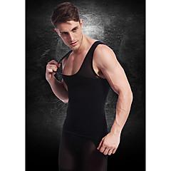 férfiak karcsúsító fehérnemű alakformáló mellény mellény ing cég has has mellkas nylon fekete ny027