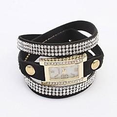 Women's Hot Flash Simple Leather Bracelet Watch(Assorted Colors)