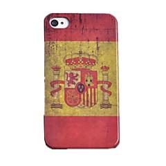 Toophone® JOYLAND Plastic Festive Back Case for iPhone 4/4S