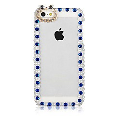 CaseBox® Pearl Frame Pattern Back Case for iPhone 4/4S