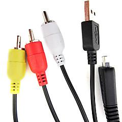 Câble 1,5 m 2.0 usb pour sony dsc-w350 W570 t110 caméra t99 tx5 de wx5