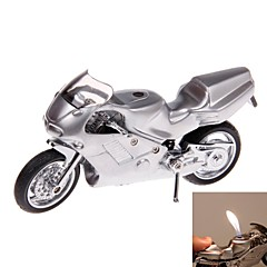 briquets modèle de moto argentés créatives pour collection ou de décoration jouets classiques