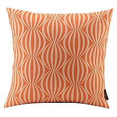 narancs görögdinnye kötött pamut / vászon dekoratív párna fedél