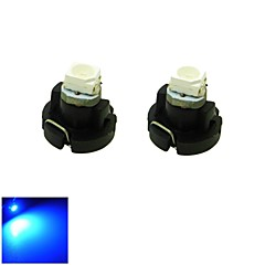 T3 LED 0.2W 1x3528 SMD Blue Light Car Dash Board Cluster Gauges Instrument Bulb Lamp(DC 12V , 2-Pack)