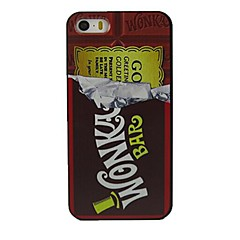 Chocolates Design Pattern Hard Case for iPhone 5/5S