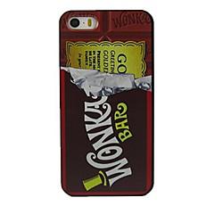 cas dur chocolats de modèle de conception pour l'iPhone 5 / 5s