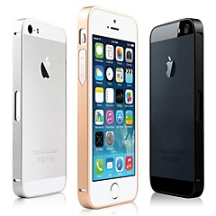 Luxury Ultra Thin Metal Aluminium Alloy Bumper Frame Case for iPhone 5/5S (Assorted Colors)
