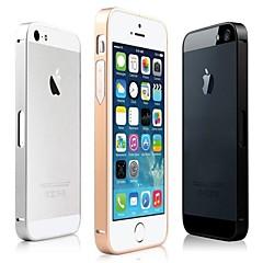 vormor® luxo ultra fino de metal de alumínio liga caso pára-choques moldura para iPhone 5 / 5s (cores sortidas)