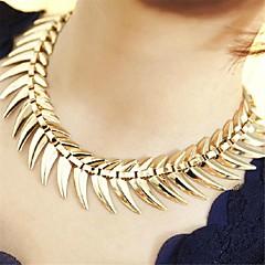 Dames Verklaring Kettingen Cirkelvorm Legering Kostuum juwelen Modieus Opvallende sieraden Sieraden Voor Causaal