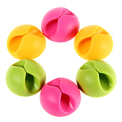 6pcs Multipurpose Cable Clips