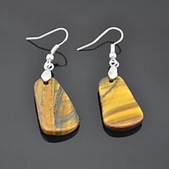 Earring Drop Earrings Jewelry Women Party / Daily Gem Brown