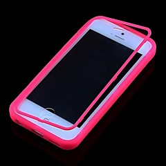 casebox® effen kleur transparant full body case voor de iPhone 5c