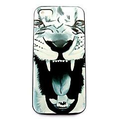 caso duro del patrón animal del león para el iphone 5 / 5s