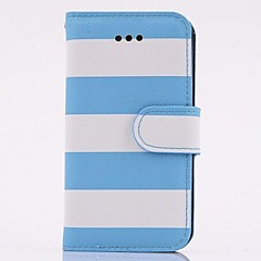 Fashion PU Leather Rainbow Full Body Case with Stand for iPhone 4/4S(Assorted Colors)