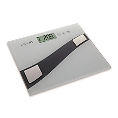 Camry Body Fat Scale Electronic Digital with Touch Button and 6mm Tempered Glass Platform(150kg/330lb,100g)